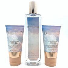 Bath & Body Works 3PK Lovely Dreamer 1Fine Mist  8oz -2B Cream 2.5oz travel size