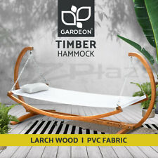Hammock Double in Cotton with Shaft in Wood 150X200CM Garden Furniture ART.14343
