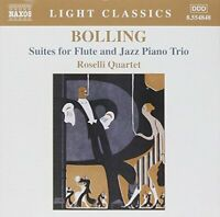 laude Bolling - Suites for Flute and Jazz Piano Trio [CD]