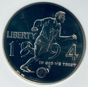 1994D World Cup commemorative half dollar MS70 ANACS