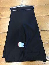 DOUGLAS 100% Lana Blend Suit Pantaloni/Nero - 58R. era £ 79.99