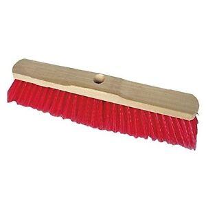 Straßenbesen Besen Elaston rot 50 cm ohne Stiel
