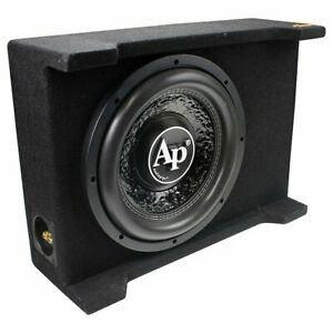 "Audiopipe 12"" Loaded Sealed 800 Watts Subwoofer Enclosure  - APSB-SP12BDF"