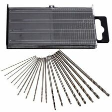 Mini Micro HSS Drill Bit Set Precision | 20pcs 0.3-1.6mm