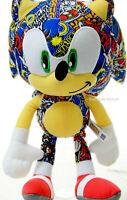 "Sega Sonic The Hedgehog 12"" Plush Stuffed Doll Toy Gift Boys Kids Authentic New"