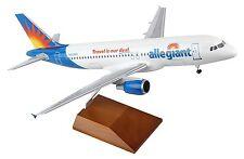 Skymarks SKR8324 Allegiant Air Airbus A320-200 Desk Display 1/100 Model Airplane