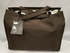Nicole Miller Espresso Diaper Messenger Bag, Assorted Babies interior, Pad Nwt