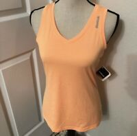 New Reebok Womens size XS Athletic Top pale orange