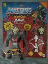 Masters of the Universe Origins Buzz Saw Hordak Evil Horde Mattel He-Man