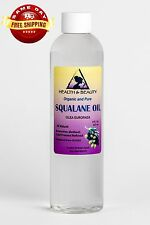 SQUALANE OIL ORGANIC OLIVE-DERIVED ANTI-AGING by H&B Oils Center 100% PURE 8 OZ