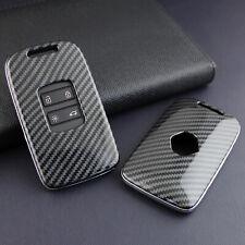 FOR Renault Koleos/Kadjar/Megane Soft Shell Smart Key Case Carbon Fiber Cover