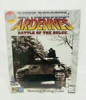 PC CD-ROM Big Box Battleground Ardennes Battle of the Bulge  Vol. 1 Sealed.