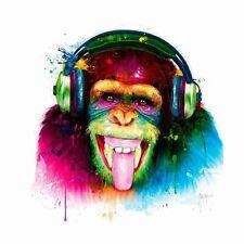 DJ MONKEY BY PATRICE MURCIANO KEYRINGS-MUGS-ART PRINT