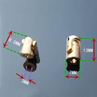 New 3mm Model Boat Car Shaft Coupler Motor connector Universal Joint Coupling U