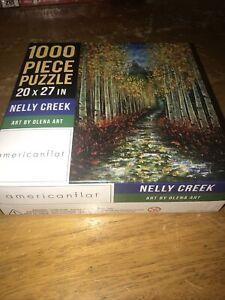 1000 PIECE PUZZLE 20x27 in NELLY CREEK