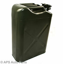 20L Metal Military Style Green Jerry Can For Diesel Petrol Water Fuel New Liquid