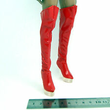 X33-19 1/6 ZC Girl ZCWO - Boots Red (pegs inside) TAKARA CG TTL CY