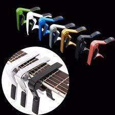 Alloy Quick Change Clamp Key Clip Acoustic Electric Guitar Capo Tone Adjust