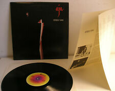Steely Dan Aja LP+insert Italy 1977 WONDERFUL CLEAR SOUND!