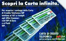 *G 128 C&C 1221 SCHEDA TELEFONICA CARTA INFINITA 30.6.94 5.000 L. MAN