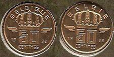 50 cent 1992 fr+vl * uit muntenset * FDC / UNC *