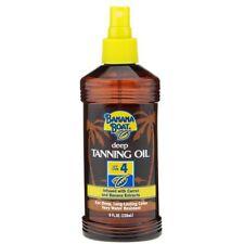 Banana Boat Protective SPF 4 Deep Tanning Oil Water Resistant 8 oz. (2 Bottles)
