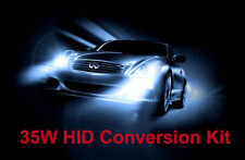 35W H4 12000K HIGH LOW BEAM Bi-Xenon Hid Conversione Kit per luci anteriori luce blu