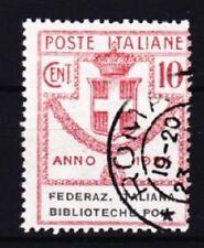 Italia Mer n. 34, GEST. Roma, Porto libertà marchio 1924, used