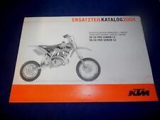 KTM Spare Parts Manual Engine 2004 50 SX Pro Junior LC