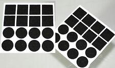 Filzpuffer Stuhlgleiter Bodenschutz Kratzschutz Möbelgleiter Filzgleiter schwarz