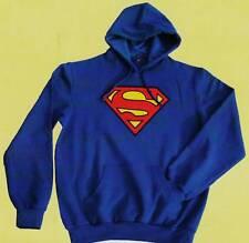 FELPA SUPERMAN ORIGINALE bambino 12 anni  MAGLIA PLUSH