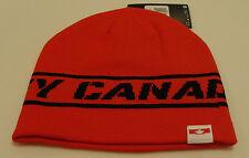 Team Canada 2014 Winter Olympics Sochi Hockey Red Toque Beanie Hat Cap Sideline