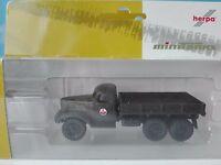 Herpa Minitanks 1:87 743815  ZIL 157 mit Flachpritsche