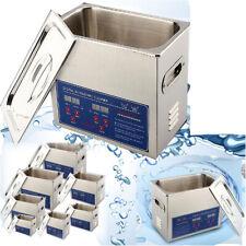 2-30L Ultraschallreinigungsgerät Ultraschallreiniger Ultrasonic Cleaner + Korb