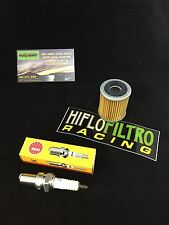 YAMAHA 350 RAPTOR / WARRIOR 89-13 OIL FILTER + SPARK PLUG