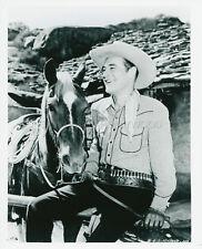 CHARLES STARRETT THE DURANGO KID 1940 VINTAGE PHOTO  R1970