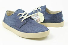 Toms Mens Paseo Sneakers Light Blue/Chambray 8 New