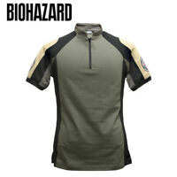 Resident Evil Biohazard BSAA Tactical T-shirt Size M Capcom Japan Game Cosplay