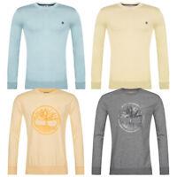Timberland Sweatshirt Rundhals Pullover Herren Strick Pulli S M L XL 2XL 3XL neu