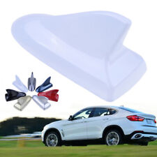 1x Universal White Car SUV Dummy Shark Fin Antenna Roof Aerial Decor Buick Style