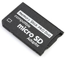 MicroSD Micro SDHC to MS Pro Duo Memory Stick Adapter