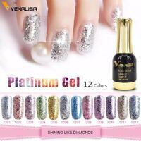 Venalisa 12ml Platinum Gel Nail Polish Super Shiny Effect Nail Gel Perfect Soak