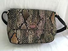Paris Hilton Faux Snake Skin Shoulder Bag