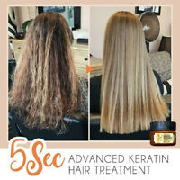 5sec Advanced Keratin Hair Treatment - FREE SHIPPING
