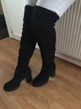 New Without Box New Look Black Size 8 EUR 41 Over Knee Boots RRP£45