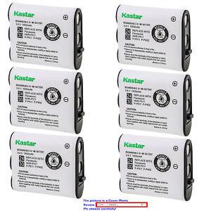 Kastar Ni-MH 1800mAh Battery for SANYO GES-PCF10 GESPCF10 P-P511 Cordless Phone