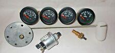 Gauges Kit- 52 Electrical Temp Pressure +Oil +Fuel+ Volt + Senders, Sending unit