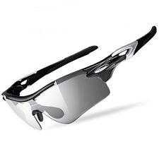RockBros Polarized Photochromic Sunglasses Bicycle Bike Frame Glasses Myopia