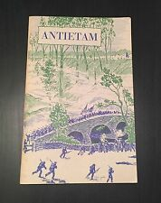 Antietam: National Battlefield Site, Frederick Tilberg, 1961 Softcover Civil War