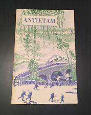 Antietam: National Battlefield Site, Frederick Tilberg, 1961 Softcover Civil War